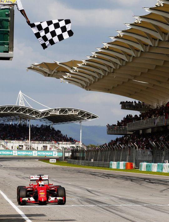 Sebastian Vettel, Malaysian Grand Prix 2015