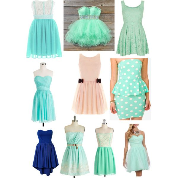Grade 7 Grad Dresses By Emily Olivea On Polyvore Featuring