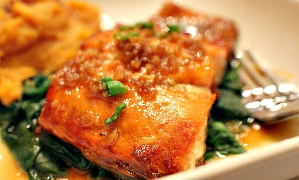 Honey Garlic Sockeye Salmon | This is delish!