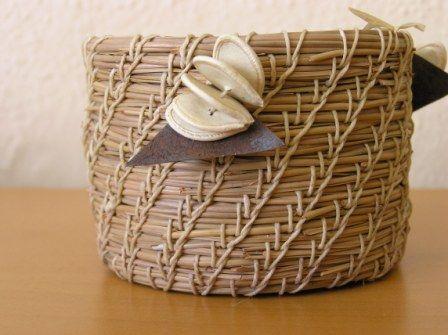 Sustaining Art Pine Needle Baskets