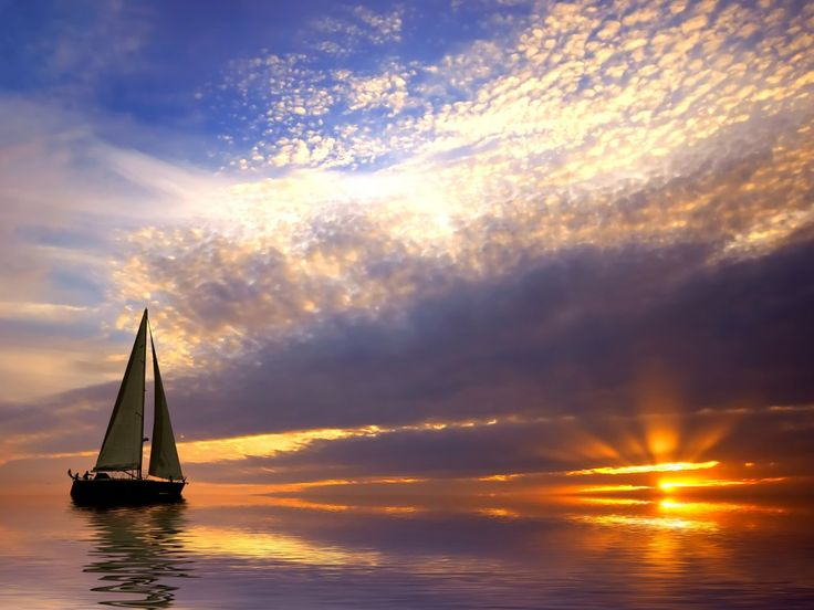 I would give anything to sail this boat into the sunset.