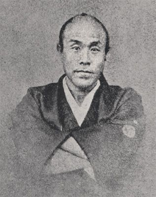 Fukui feudal soldier Mitsuoka hachiro, Yuri, fair serving Matsudaira Kyung Yong (Yoshinaga), under the guidance of yokoi Konan clan fiscal reform to succeed. Consisting of actors, and received Sakamoto ryōma visited. Draft draft 5 clause oath of the new Government. Later became the first Governor of Tokyo Prefecture.