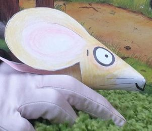 Easy to make The Gruffalo Mouse Puppet. Merry-go-Round Storytelling - Fun Stuff
