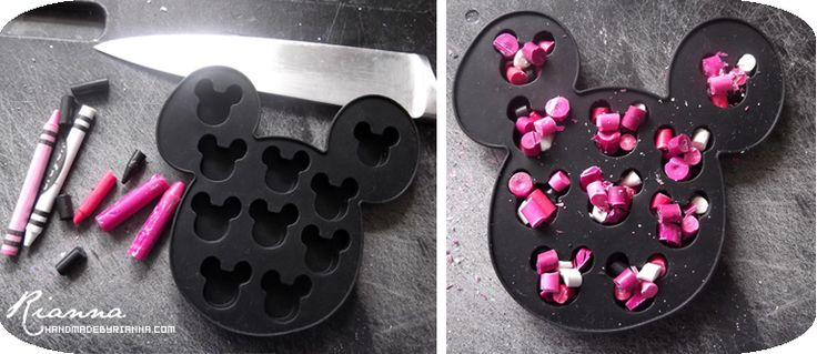 minnie mouse handmade party ideas | Hand Made By Rianna: Homemade Minnie Mouse Crayons