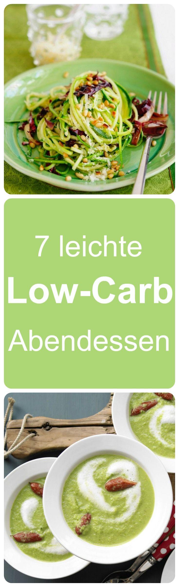 Wir haben hier 7 Low-Carb Abendessen, damit du gesund und lecker durch die Woche kommst.