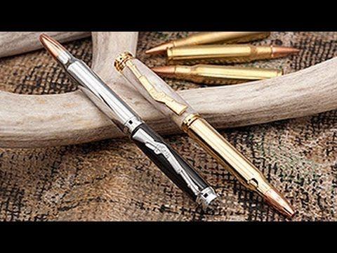 Bullet Pen (pen turning kit) - YouTube