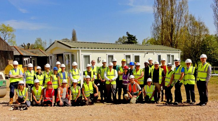 April 20, 2015—Residential support site    A member of the Governing Body of Jehovah's Witnesses and another headquarters representative visited the construction team. Later that week, a special meeting was broadcast to all Kingdom Halls in Britain and Ireland. It was announced that on the preceding evening, the Chelmsford City Council had given their initial approval for the project to proceed.