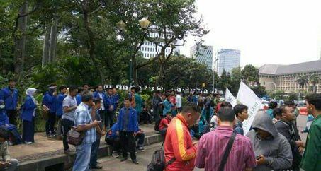 Polda Metro Jaya Lakukan Tiga Skenario Pengamanan Demo Mahasiswa di Depan Istana Merdeka