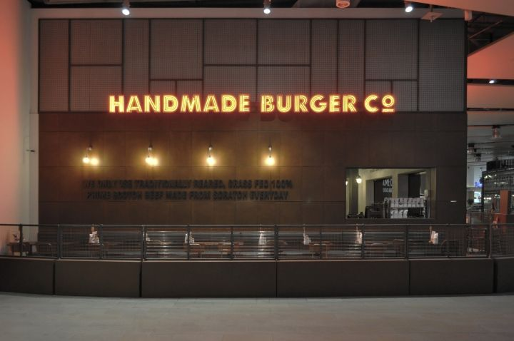 Handmade Burger Co by Brown Studio, Sheffield Meadowhall – UK » Retail Design Blog