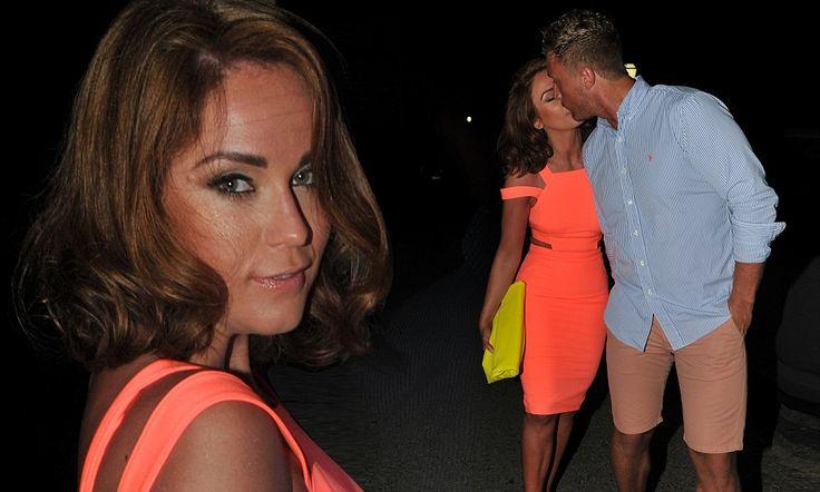 Vicky Pattison plants a kiss on new boyfriend James Morgan