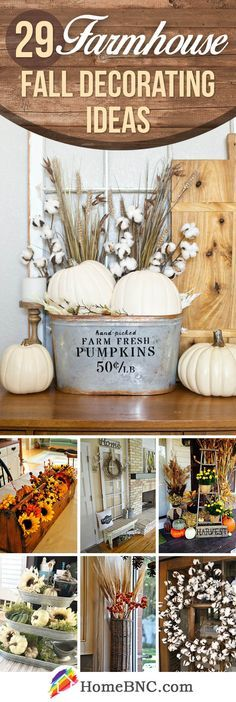 Farmhouse Fall Design Ideas