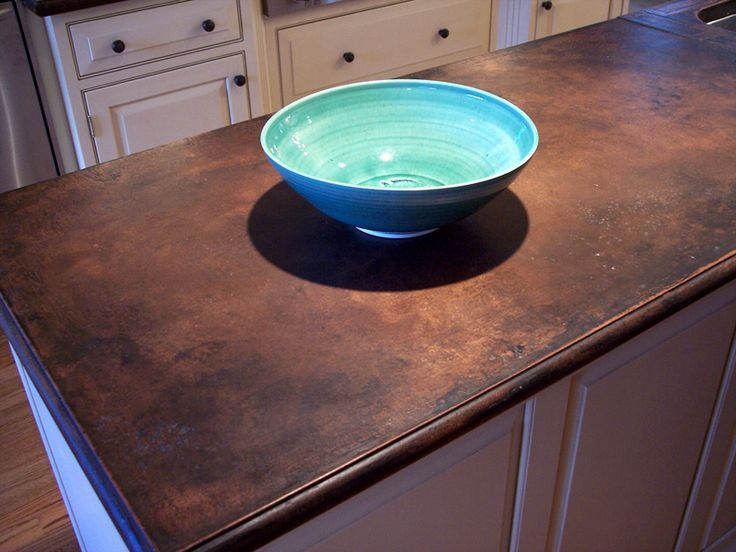 Love The Aged Patina Effect Of This Stained Concrete