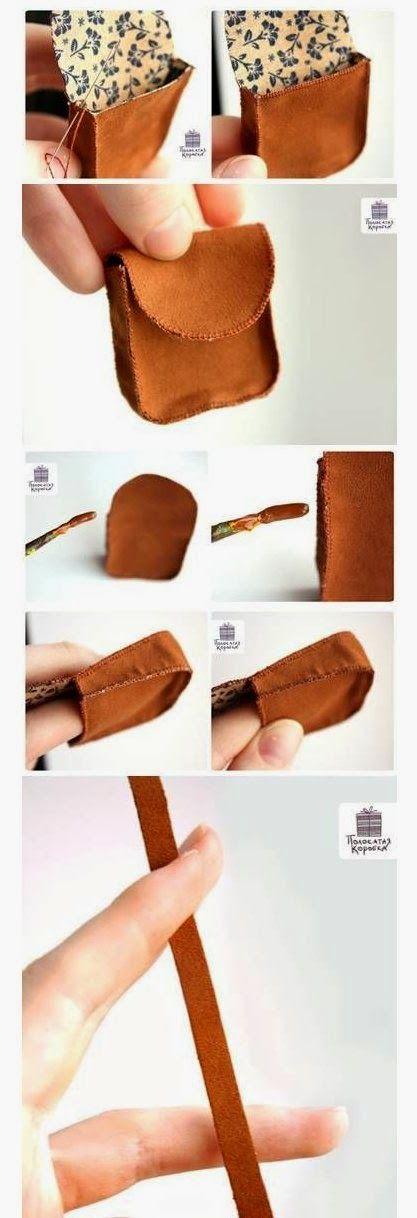 Olá meninas, tudo bem? encontrei essa mini bolsinha no Pinterest e vim compartilhar com vocês! Olha que coisa mais fofa, você pode faze...