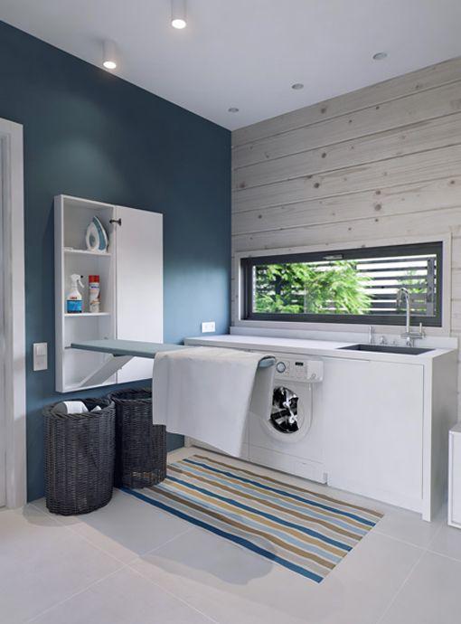Ideas para crear una zona de lavado y plancha cocina - Zona lavanderia ...