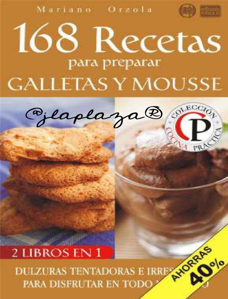 recetas para preparar galletas y mousse