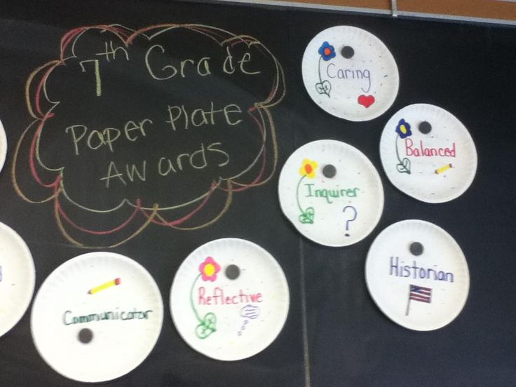 Paper Plate Student Awards & 31 best paper plate awards images on Pinterest | Paper plates Paper ...