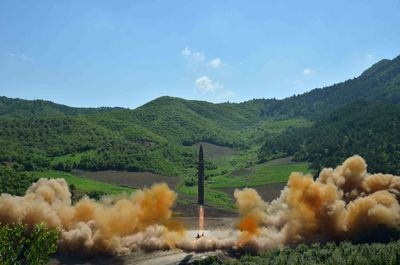 """The U.S. confirmed a rocket launched by North Korea on July 4 was an intercontinental ballistic missile, with Secretary of State Rex Tillerson calling it a """"new escalation of the threat"""" to the U.S. and its allies that would be brought before the United Nations Security Council."""