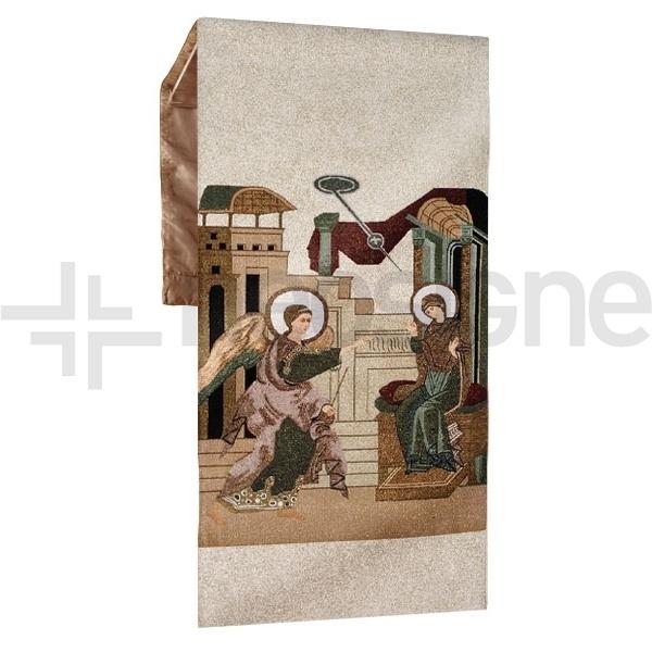 Paño Anunciación a Maria para atril