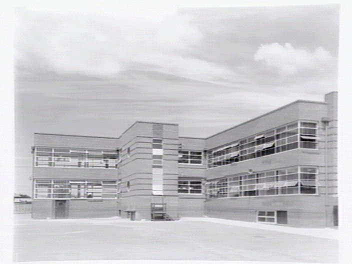 Oakleigh Technical School 1946 photo state library victoria. Designed by Percy Everett Chief Architect Public Works Department of Victoria.