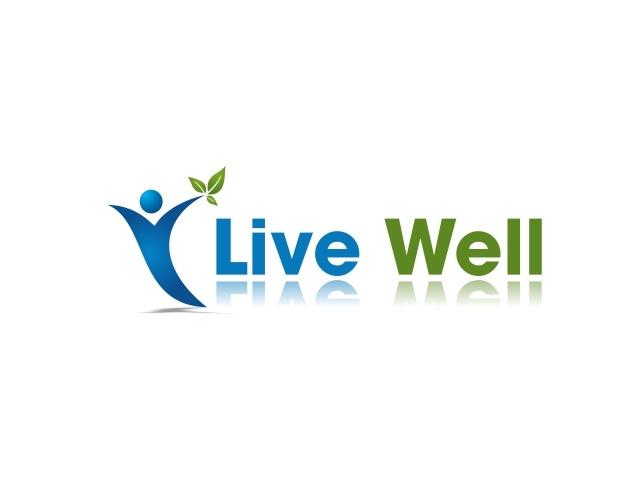 Logo Design for Live Well - Health, Wellness, Fitness, Nutrition ...