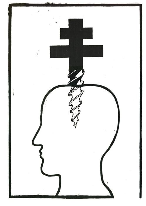 šrobák v hlave