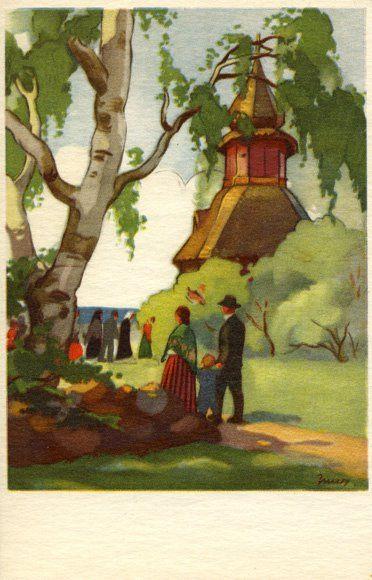 Martta Wendelin - Kirkkoon