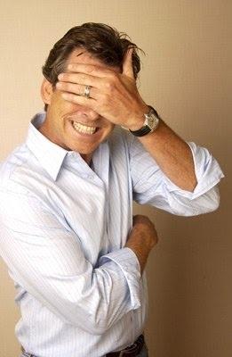 Pierce Brosnan. Wonderful pic.