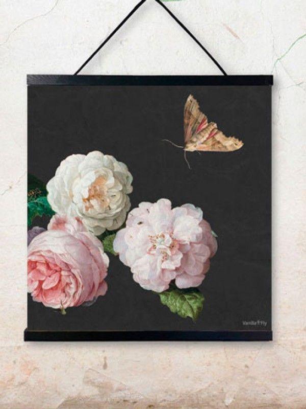 VANILLAFLY ARTPRINT   poster rosa - 50x50cm - wallhanger sold separately