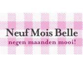 Neuf Mois Belle: the name says it all. Negen maanden lang stralen tijdens je zwangerschap doe je met de mooiste zwangerschapskledij.
