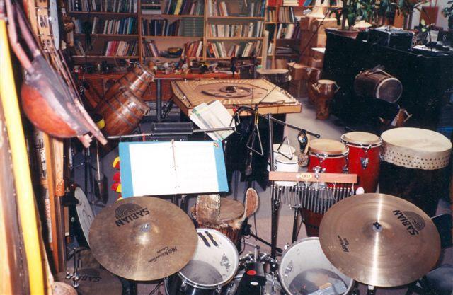 The Celestial Harp at the Queen St. E Studio