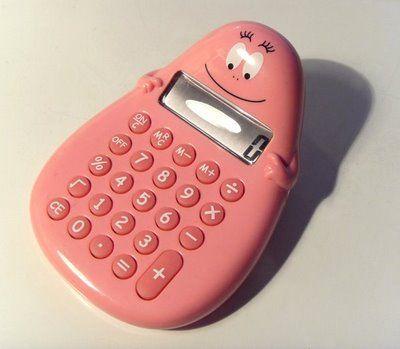Barbapapa calculator <3