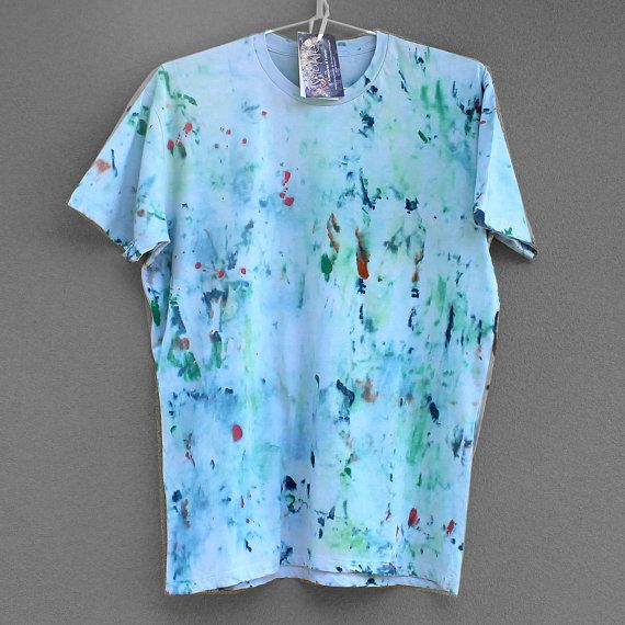 DREAM BLUE. 100 cotton Tshirt for man or boy. Size L by Smukie, $35.00