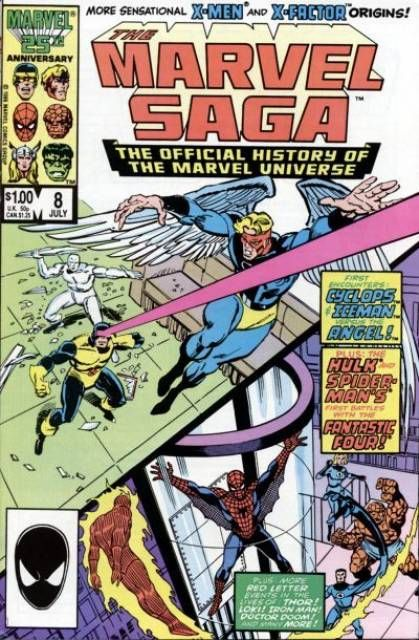 The Marvel Saga The Official History of the Marvel Universe #8 - BOOK VIII: FATEFUL ENCOUNTERS! (Issue)