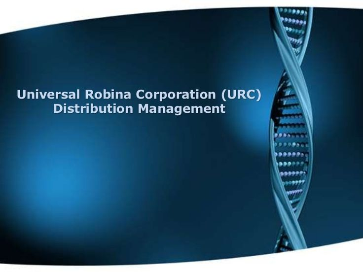 universal robina corporation essay Universal robina corporation (urc) was founded in 1954 when mr john gokongwei, jr established universal corn products, inc,.