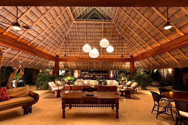 El diseño arquitectónico giró en torno a la palapa. | Galería de fotos 2 de 21 | AD MX