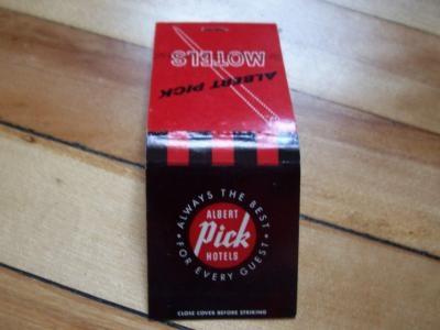 1000 images about vintage matchbooks matchboxes for for Brisbois motor inn prairie du chien wi