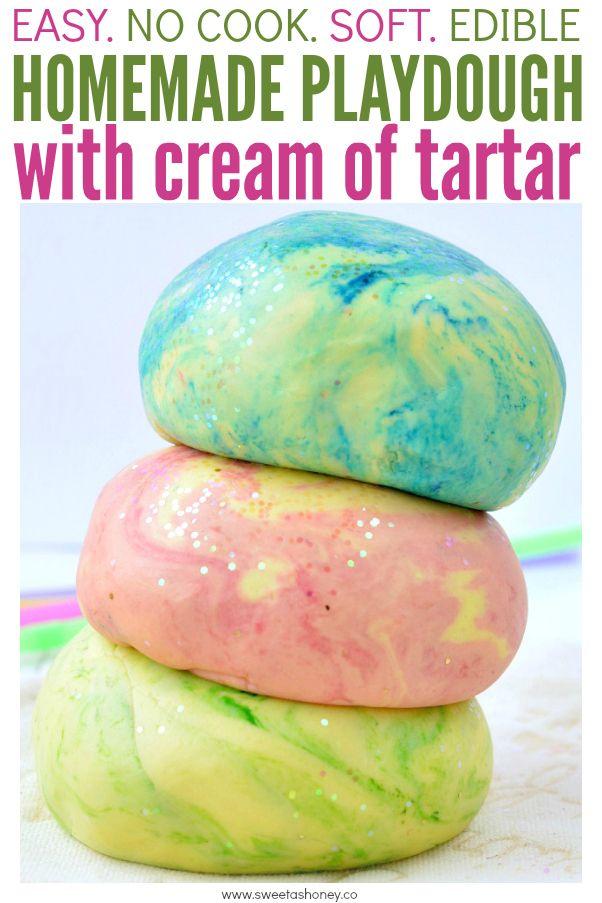 Pin By Elizabeth Palato On Childs Play Cream Of Tartar Playdough Cream Of Tartar Recipe Homemade Playdough