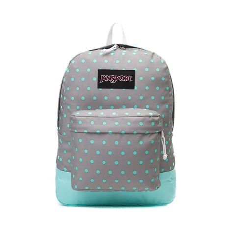 Shop for JanSport Superbreak Backpack in Gray Aqua at Journeys Shoes. Shop today for the hottest brands in mens shoes and womens shoes at Journeys.com.The JanSport Superbreak Backpack features the following details and specificationsDetails One large main compartment Straight-cut, padded shoulder straps Front utility pocket with organizer 23 padded back panel Web haul handleSpecifications Capacity 1550 cu in  25 L Weight 12 oz  0.3 kg Dimensions 16.7 x 13 x 8.5  42 x 33 x 21 cm Fabric 600…