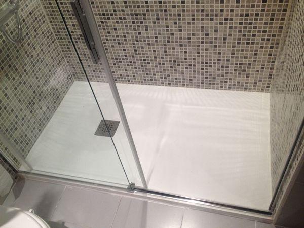 Cambio de ba era por ducha sin obra en ja n duchas for Baneras pequenas roca