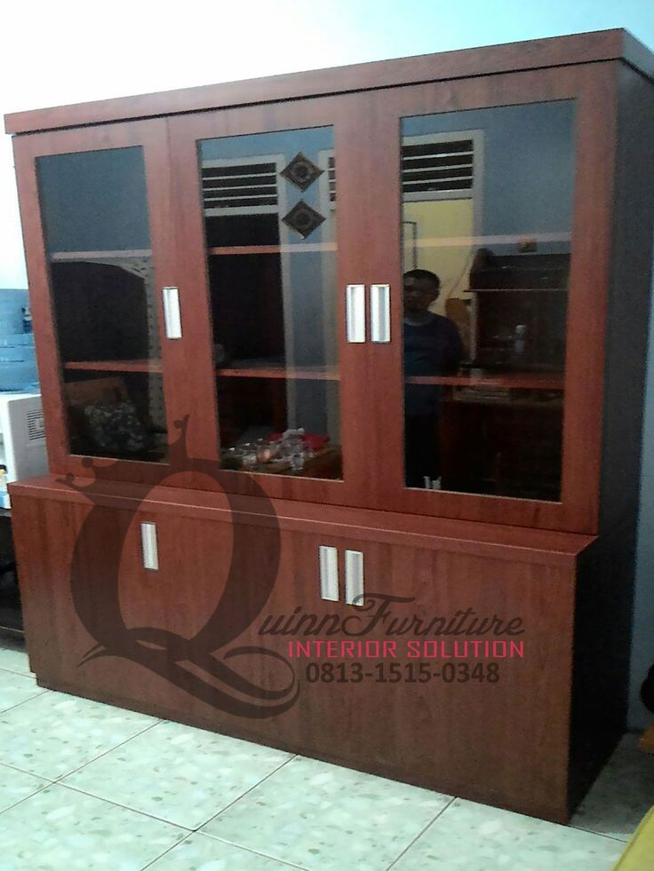 Lemari Pajangan 1 - Workshop Furniture