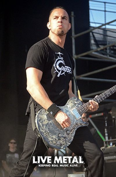 Mark Tremonti, best known as the lead guitarist of the rock bands Creed and Alter Bridge. He is a founding member of both bands, and has also collaborated with many other artists over the years.
