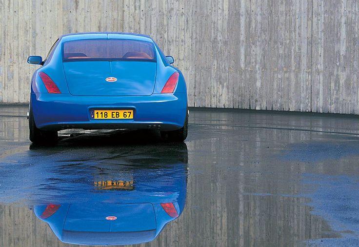 1998 Bugatti EB118 Concept.