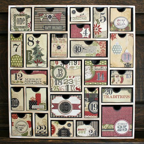Simple Stories teams up with Silhouette America to create this fabulous Advent Calendar!