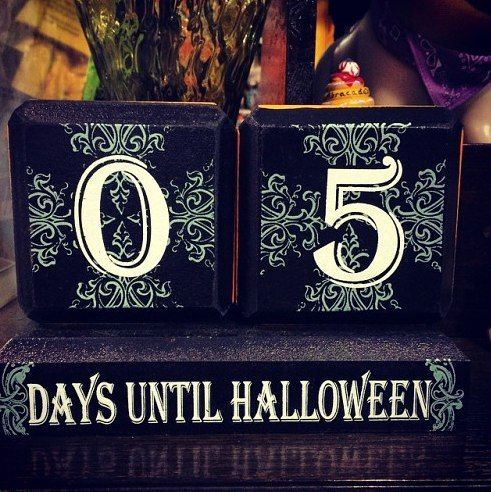 Only 5 days til Halloween!! Still plenty of time to come in to one ...
