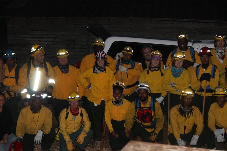 The Fire Dawgs of Alabama A&M are students who work on the university's wildland fire team. They major in forestry and are trained firefighters.  They assist the Alabama Forestry Commission when they need additional manpower. The forest service provides basic fire training for qualified students during a two-week summer program. Their equipment is paid for by a forestry grant.
