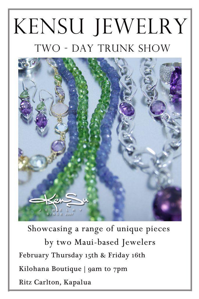 KenSu Jewelry in the Ritz Carlton - Kilohana Boutique