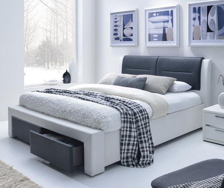 """Łóżko Cassandra S 160x200 polecane przez sklep """"Meblowy Guru"""". Łóżko dostarczamy GRATIS na terenie całego kraju."""