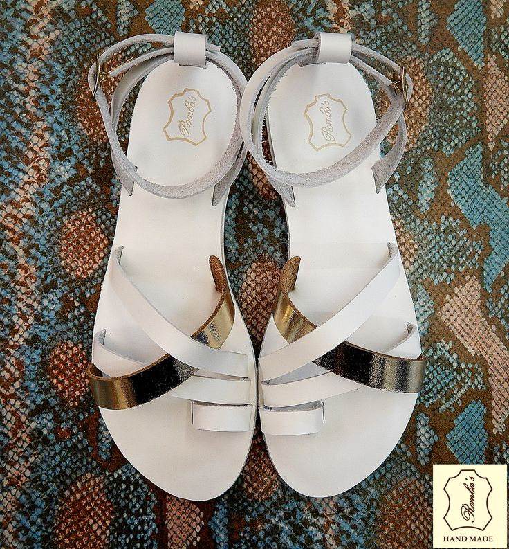 Handmade leather wedding sandal IPHIGENIA ...... Romba's leather sandals & bags