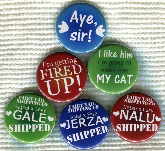 Need them all! Mostly NaLu because I have a group and all...