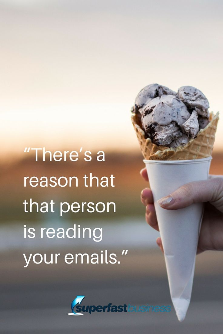 """There's a reason that that person is reading your emails.""  You're giving them entertainment, you're giving them encouragement, inspiration, you're putting them in suspense, you're surprising them, there's just a joy in reading the email.  follow the episode here http://www.superfastbusiness.com/"
